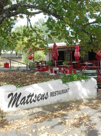 Mattsens Pizza Steakhouse : Mattsens, Swellendam