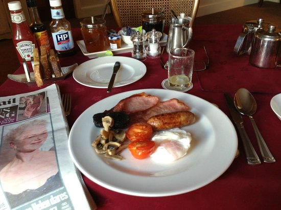 Capernwray House : Perfection on a plate