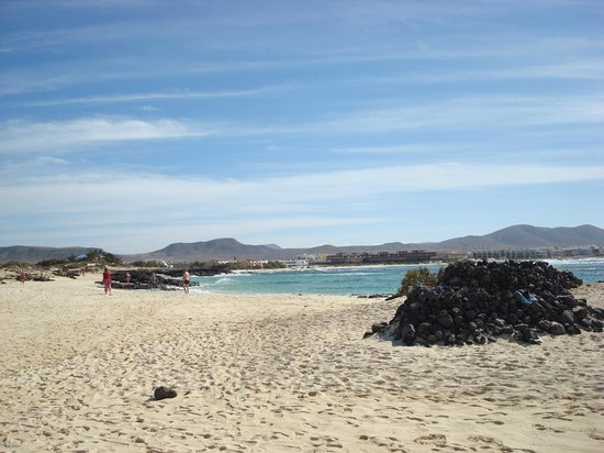 Caleta Del Mar: one of the many beaches