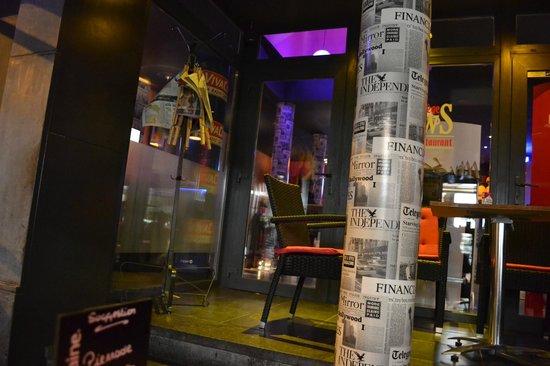 NewS Bar & Restaurant : la déco est d'enfer
