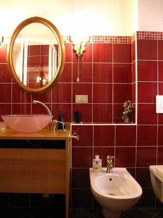 B&B Villa Olmo: bagno camera singola
