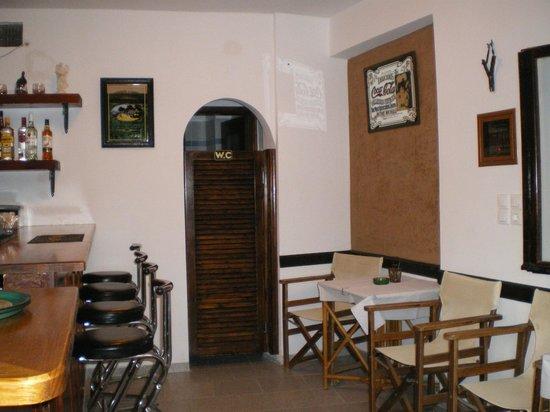 Stasi Kafeneion: Seating Inside