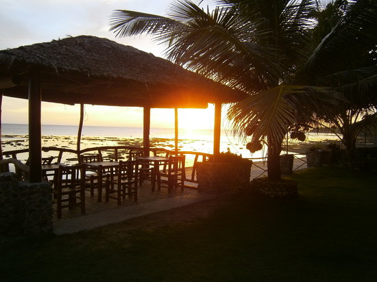 Michael's Resort and Dive: sunset view