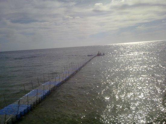 Sunrise Diamond Beach Resort: pontile