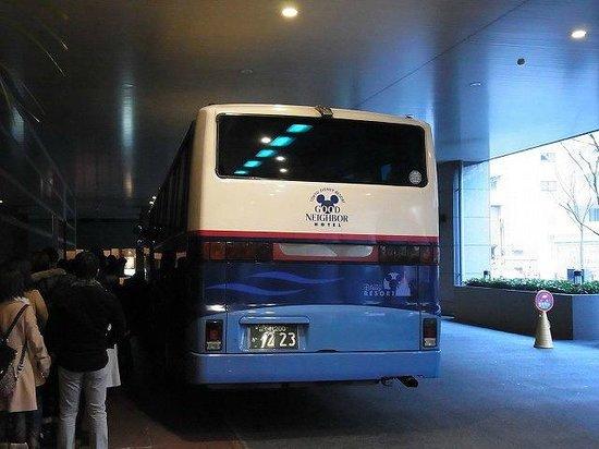 Tobu Hotel Levant Tokyo: ディズニーリゾート行きバスは1日数本出ています。
