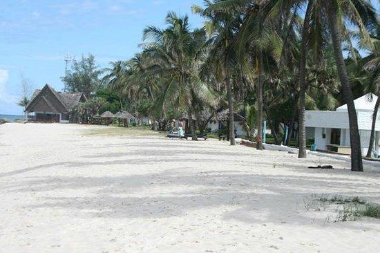 diani beach, view from jacaranda hotel