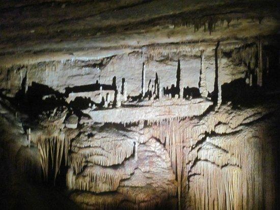"Blanchard Springs Caverns: Battleship or Titanic or ""X"" Cruise Ship"