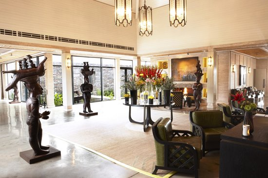 Delaire Graff Estate - Lodges and Spa: Lodge reception