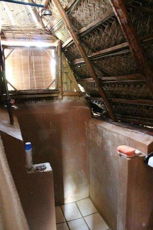 Bamboozi Beach Lodge: Inside the hut