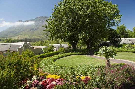 Delaire Graff Estate - Lodges and Spa: Hotel Gardens