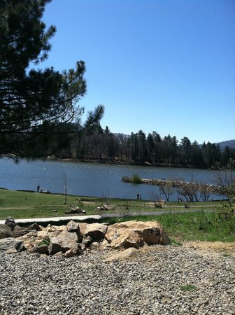 Lake Cuyamaca: lake from campsite