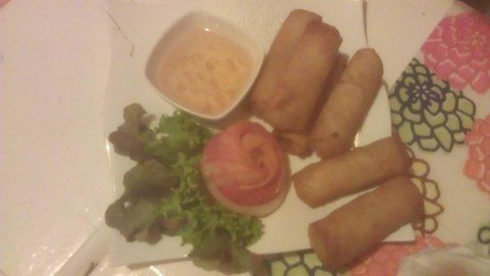 Thai taste: Spring Rolls