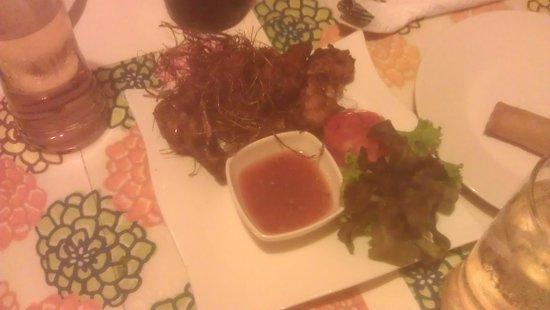 Thai taste: Lemongrass Chicken wings