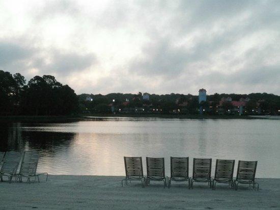 Disney's Caribbean Beach Resort: peaceful