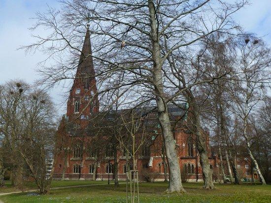 All Saints Church, Lund : Church from a distance
