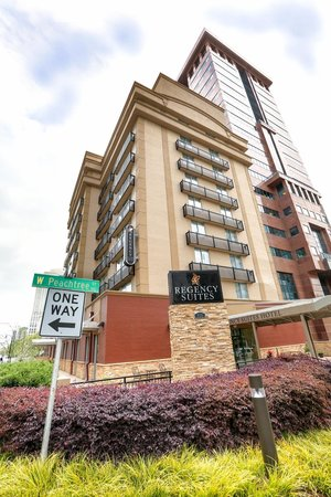 Regency Suites: At the corner of Tenth and West Peachtree in the heart of Midtown!