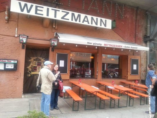 Weitzmann Berlin Moabit Restaurant Bewertungen
