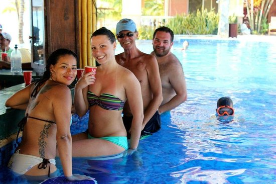 Swim Up Poolo Bar Picture Of Infinity Bay Spa And Beach