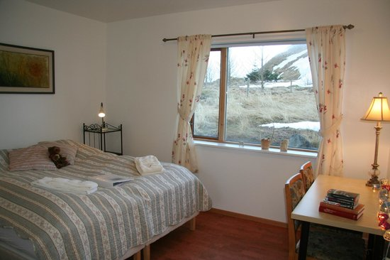 Guesthouse at Hestheimar: Double room with private bathroom in the main building