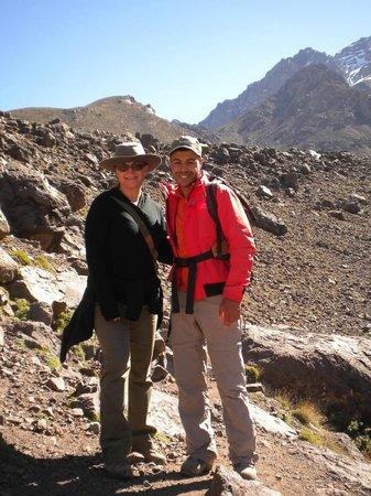 Kasbah Du Toubkal : Abdul, our trekking guide