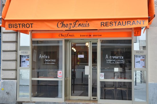 Chez Louis: la façade