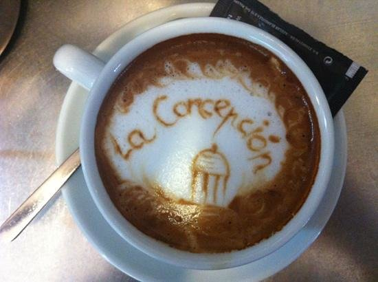 Cafetería Jardín Botánico La Concepción: café la concepción