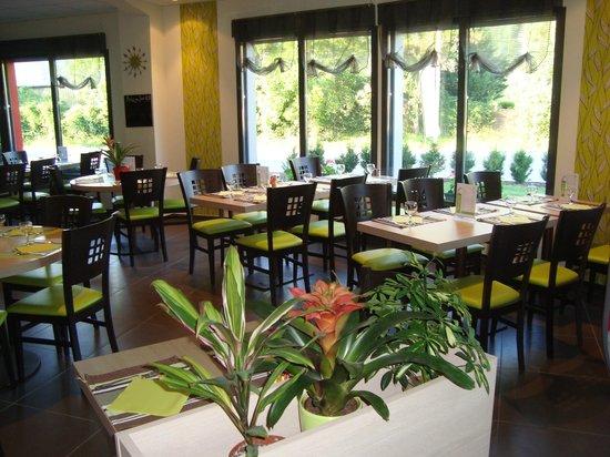 Le Pikassiette: la salle du restaurant