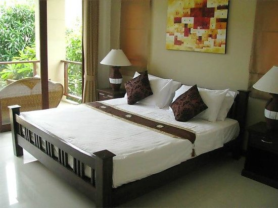 Baan Luxor: KS bed in Master bedroom