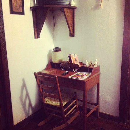 Bayou Cabins: desk and rocking chair