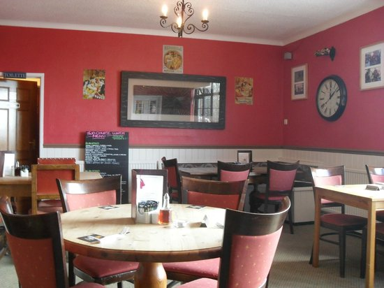 Three Horseshoes: One of the dining rooms