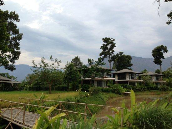 The River Resort : ホテルの客室の外観