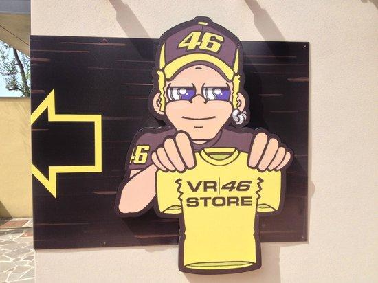 Tavullia, Italia: VR46 Store
