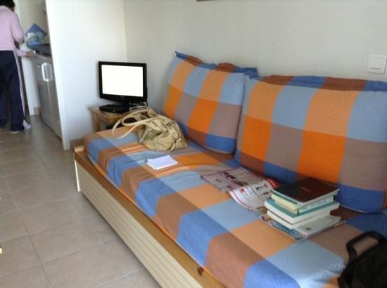 Apartamentos Pierre & Vacances Le Phare de Trescadec: couchage salon 311