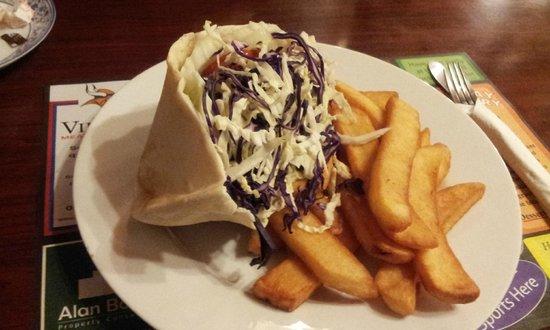 Queen Victoria Inn: lamb donar kebab