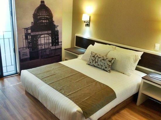 Hotel Plaza Revolucion: Habitación sencilla
