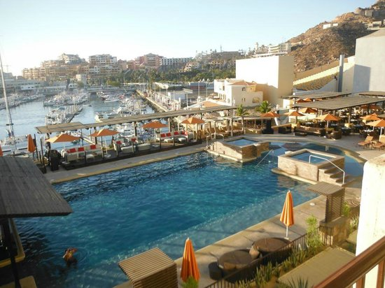 Tesoro Los Cabos: Skypool view from our room