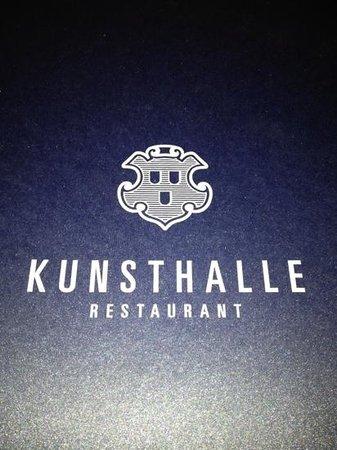 Restaurant Kunsthalle : Add a caption