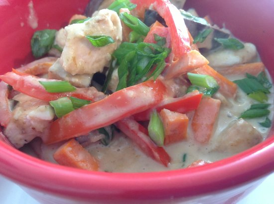 The Bakery: Red Curry with Jasmine Rice