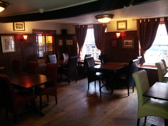The King's Head : Our 'Green Room', which serves as additional dining space or meeting space