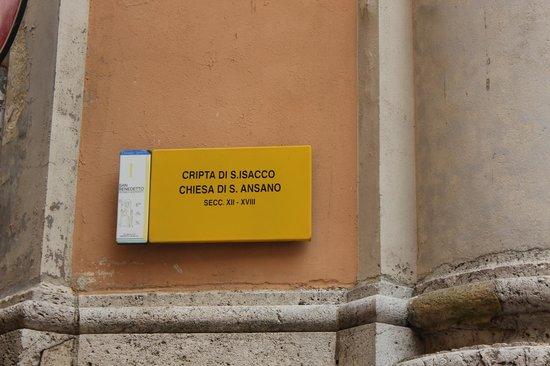Chiesa Di Sant'ansano E Cripta Di Sant'isacco: chiesa di sant'ansano