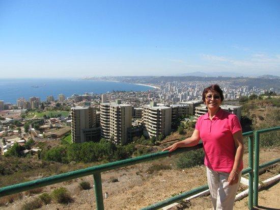 Hotel Manoir Atkinson: Viña del Mar panoramical view!