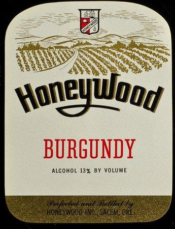 Honeywood Winery History-Label