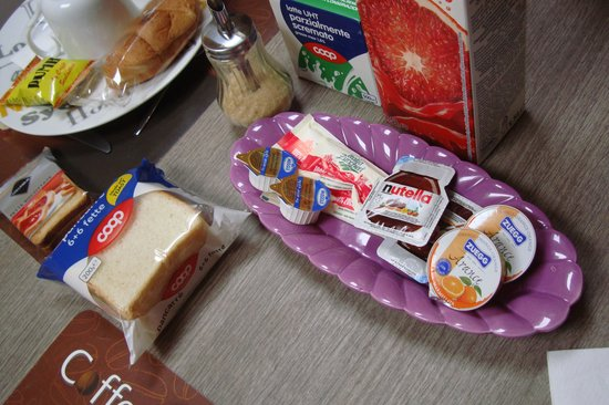 Chalet Caffellatte: breakfast