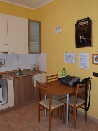 La Corte dei Samidagi: Angolo cucina