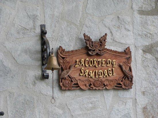 La Corte dei Samidagi: Ingresso