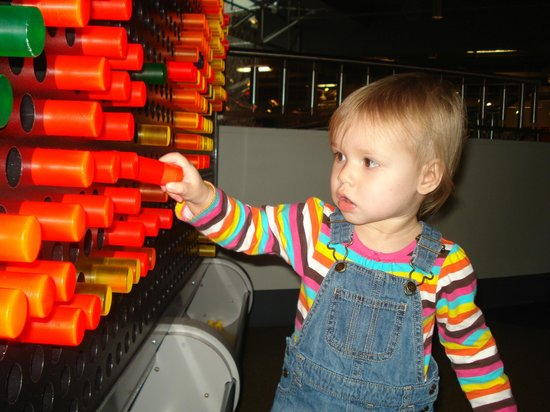 The Children's Museum of the Upstate: Light Wall