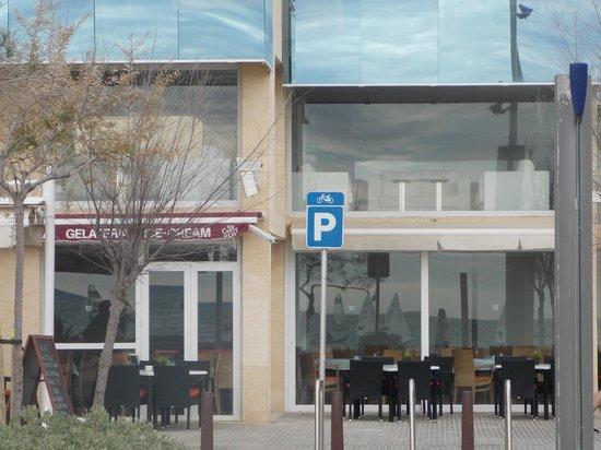Pool Restaurant Escalope And Chips Hotel Hispania Mallorca