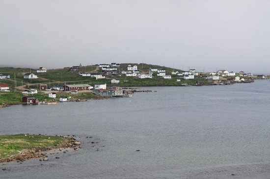 Whaling Station Cabins: View at Red bay
