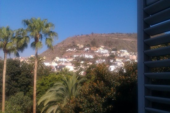 Hotel Taburiente: View from balcony