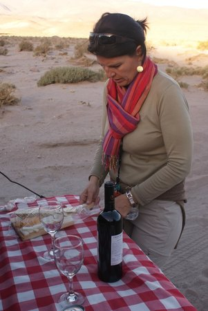 Awasi Atacama - Relais & Chateaux: Picnic at finish of hike